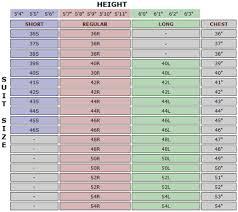 Measurements Mens Suits Chart Suit Size Chart Suit Size Calculator Contempo Suits