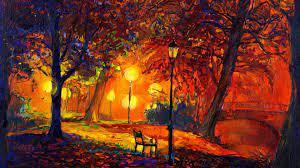digital Art, Nature, Trees, Painting ...