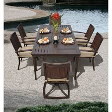agio international panorama outdoor 9 piece high dining patio set. pacifica 7-piece patio dining set costco.com agio international panorama outdoor 9 piece high