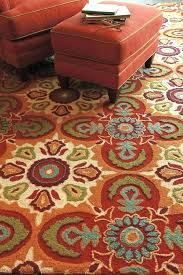 brown and orange area rug rugs