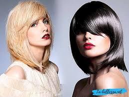 Módní účesy žen Pro Střední Vlasy S Třeskymi Po 40 Letech účesy