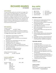 Can resume pages test manager template page two front and back stapled  examples admirable screenshoot