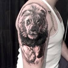 мужская татуировка лев тату лев тату хищники
