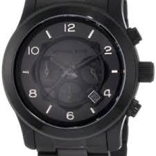 michael kors watches michael kors men s black bracelet chronograph michael kors watches michael kors men s black bracelet chronograph sport black bossman watches