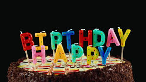 Birthday Cake On A Black Stock Footage Video 100 Royalty Free