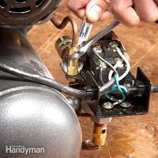 how to fix an air pressor