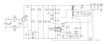 lighting designs flicker led dimming electronic products 1 schematic of an isolated triac dimmable high power factor universal input 14 w led driver