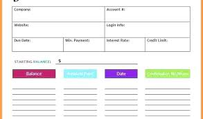Credit Card Payment Plan Debt Reduction Excel Spreadsheet Best Of Credit Card Payoff