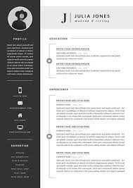 Microsoft Word Resume Templates Free Unique Modern Microsoft Word ...