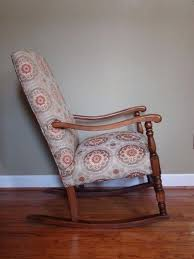 antique upholstered rocking chair reupholstered rocking chair antique  upholstered rocking chair price
