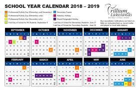 The Year Calendar School Year Calendar Trillium Lakelands District School Board