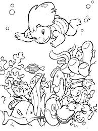Cute Killer Whale Is Jumping Out Of Water Coloring Page Free Adult