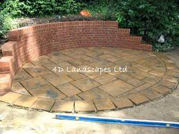stirring large size of to build a raised stone patio circular brick patio designs pictures inspirations