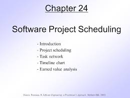 Project Timeline Classy Chapter 44 Software Project Scheduling Ppt Video Online Download