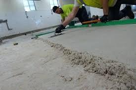 how to level a concrete floor photo level concrete floor before tile