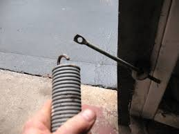 Image result for garage door spring broken