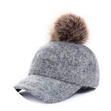 Hat Brim Light Light Wool Baseball Cap Warm Winter Hat Brim Mens Baseball