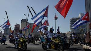 Cubans stage protests against ...