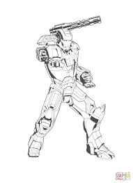 Small Picture Powerful Iron Man coloring page Free Printable Coloring Pages