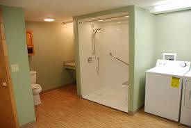 Shower Installation Cost Guide Shower Doors Tiles Pumps - Handicap bathroom