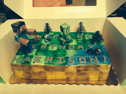 Minecraft Publixs Cake Party Ideas Publix Cakes Cake Birthdays