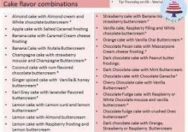 Wedding Cake Flavors List Wedding Cake Flavors List Idea In 2017