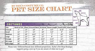 Rubies Dog Costume Size Chart Rubies I Love New York Pet Taxi Cab Costume