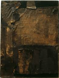 untitled small vertical black painting