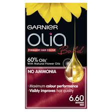 garnier olia 60 intense red permanent hair colour image 1
