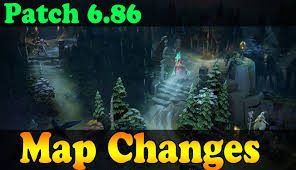 dota 2 patch 6 86 map changes youtube