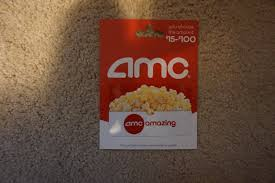 25 amc theatres gift card 20 00 pic