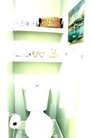 bathroom floating shelves above toilet medium of soothing small edge farmhouse diy behind