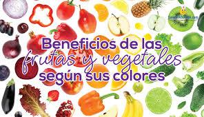 De Las Frutas Y Vegetales Seg N Sus Colores