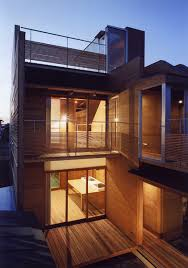 Modern Japanese Houses Concrete And Wood House Modern Designs Within Gallery Of Japanese