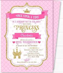 Royal Invitation Template Free Printable Royal Princess Party Invitation Templates