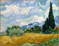 filevincent van gogh wheat field with cypresses google art paintings of vincent van gogh with information