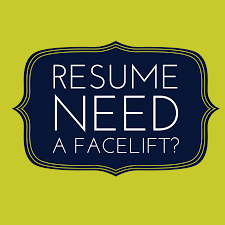 Resume Facelift Get My 4 Don Ts And 10 Do S Nuts And Bolts Tips