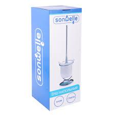 <b>Ерш для унитаза</b> напольный, стекло, SonWelle H706 в магазинах ...
