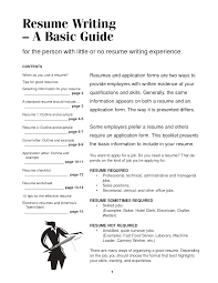 How To A Resume For A Job How To Write A Resume For It Job Highschool Students Good First Make 23