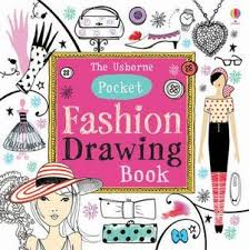 kids colouring painting activity books the usborne pocket fashion drawing book drawing doodling colouring fiona watt