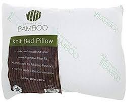 jumbo pillow size.  Jumbo The Original ESSENCE OF BAMBOO Down Alternative Pillow Jumbo Size 20u0026quot   With E