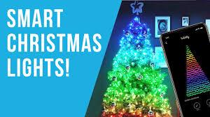 Twinkly Smart Christmas Tree Lights Twinkly Lights Review The Best Smart Christmas Lights