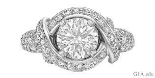 diamond shapes for enement rings