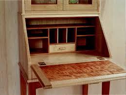 drop front secretary desk with shelves