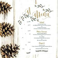 Christmas Template For Word Unique Holiday Menus Free Menu Template Word Baycabling