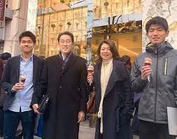 岸田文雄の家族構成は?妻は社長令嬢の裕子夫人!息子の学歴もすごい!
