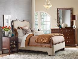 Kincaid Bedroom Furniture Kincaid Furniture Hadleigh Traditional Queen Upholstered Bed With