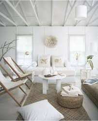 Fascinating White Beach House Interiors Contemporary - Best idea .