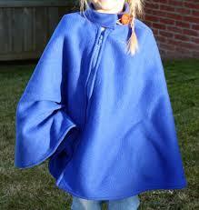 Fleece Poncho Pattern With Hood Classy Filth Wizardry Home Made Superhero Fleece Ponchocape