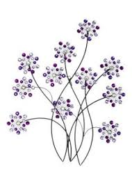 inspire me metal flower wall artmetal  on purple metal wall art flower with 9 best matalan most wanted images on pinterest matalan acrylic